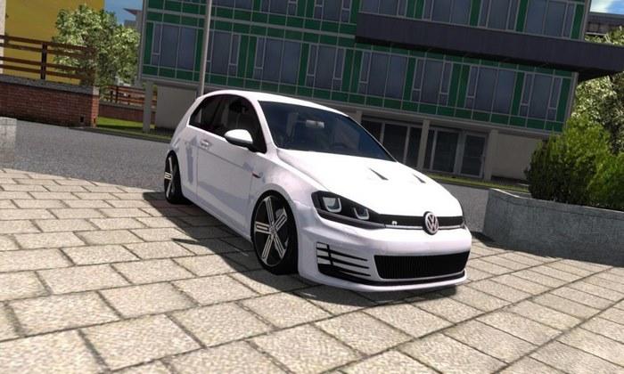 Carro Volkswagen Gof 7 R Para V.1.31.X - ETS2