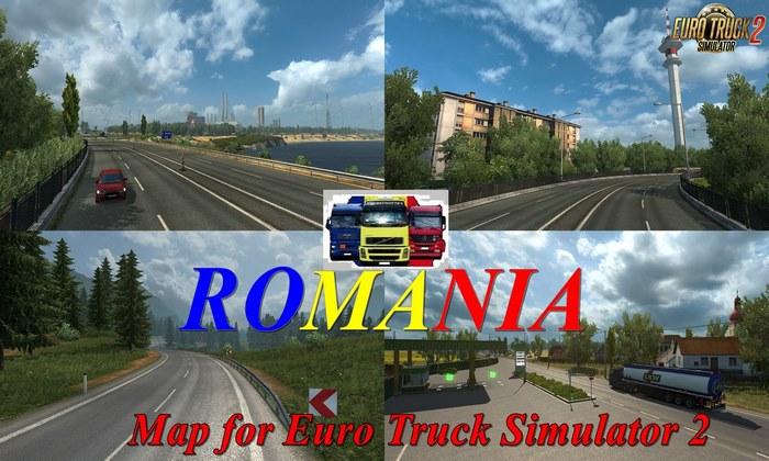 Mapa ROMANIA v1.0 Para V.1.31.X - ETS2
