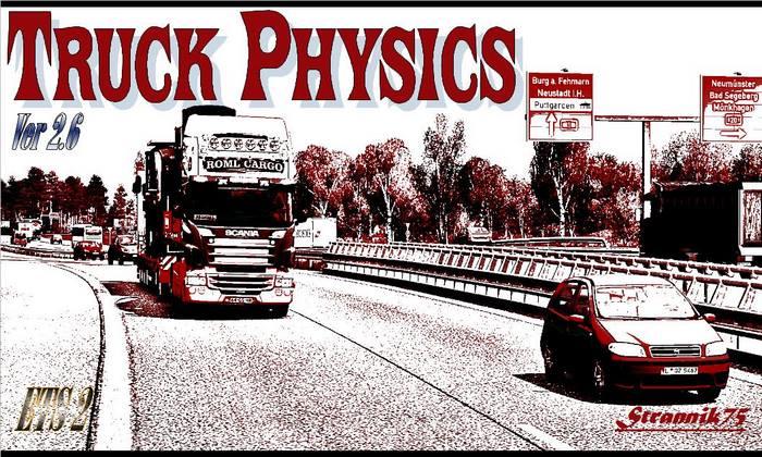 Mod Física Realista Para Caminhões Para V.1.32.X - ETS2