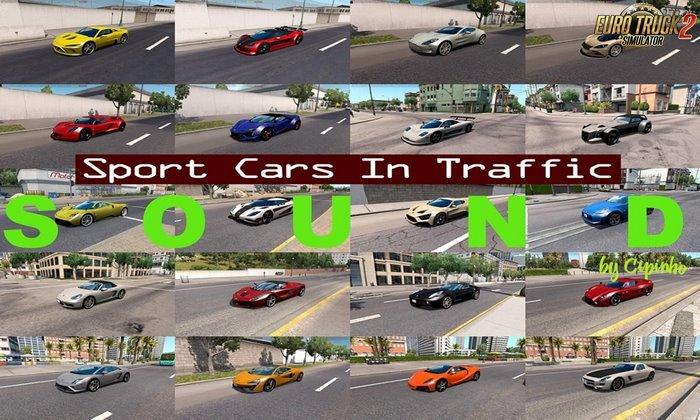 Som do Pack de Carros Esportivos v1.6 Para V.1.32.X - ETS2