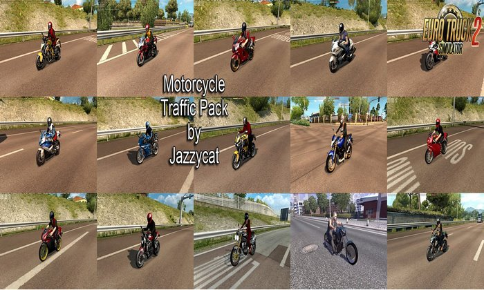 Sons do Pack de Motocicletas v1.3 Para V.1.31.X - ETS2