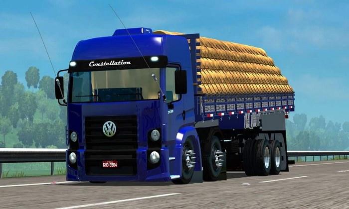 Caminhão Constellation 24-280 BiTruck Para V.1.32.X - ETS2