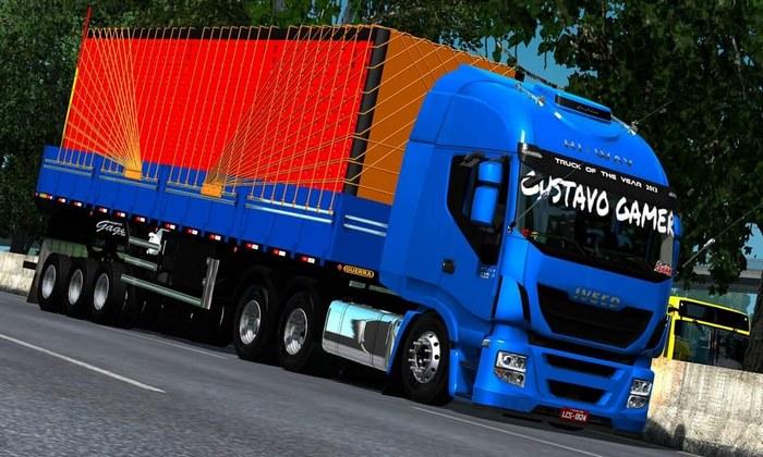 Caminhão Iveco Hi-way 460 BR Para V.1.32.X - ETS2
