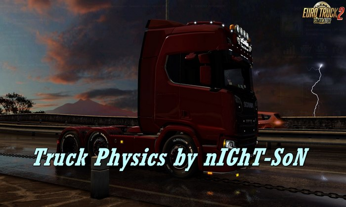 Físicas Realísticas de Caminhões v3.6.1 Para V.1.32.X - ETS2