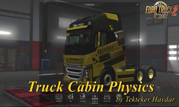 Físicas da Cabine v1.0 Para V.1.32.X - ETS2
