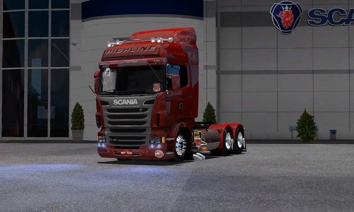 Caminhão Scania 440 BR Para V.1.32.X - ETS2
