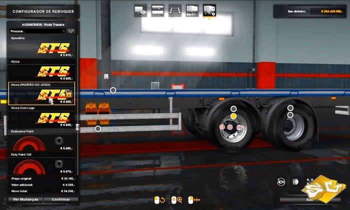 Pack de Rodas Para Trucks e Reboques Para V.1.32.X - ETS2