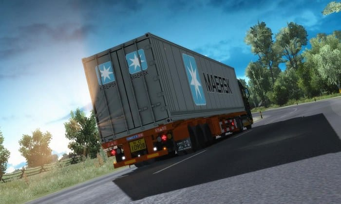 Reboque Container Maersk Reefer Para V.1.32.X - ETS2