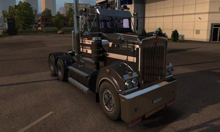 Caminhão Kenworth T908 + Interior V.6.1 Para V.1.32.X - ETS2