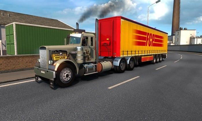 Caminhão Peterbilt 281 e 351 V.2.1 Para V.1.32.X - ETS2