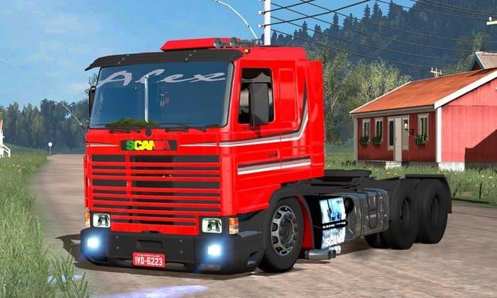 Caminhão Scania 113H Frontal Para V.1.32.X - ETS2