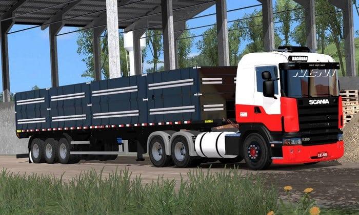 Caminhão Scania R380 do Nené Para V.1.32.X - ETS2