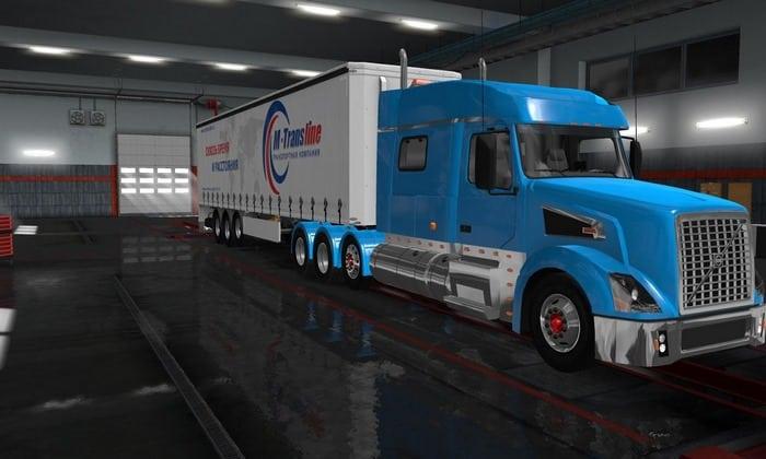 Caminhão Volvo VNL V.1.4 Para V.1.32.X - ETS2
