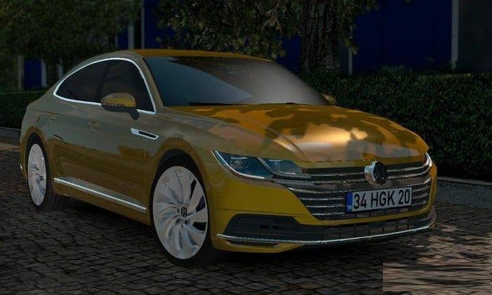 Carro Volkswagen Arteon 2018 V2 Para V.1.32.X - ETS2
