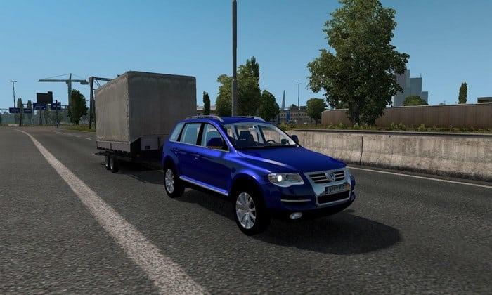 Carro Volkswagen Touareg V.1.0 Para V.1.32.X - ETS2