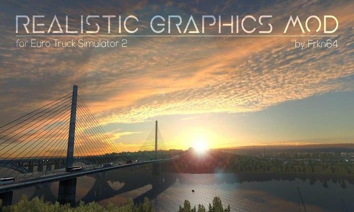 Mod Gráficos Mais Realistas V.2.3.0 Para V.1.32.X - ETS2