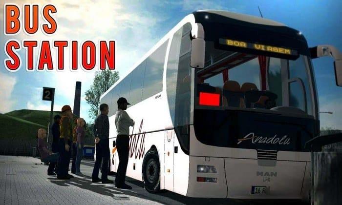 Mod Parada de Ônibus V.2.0 Para V.1.32.X - ETS2