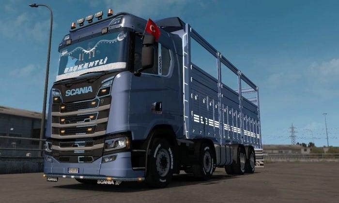 Caminhão Scania S500 Next Gen Para V.1.33.X - ETS2