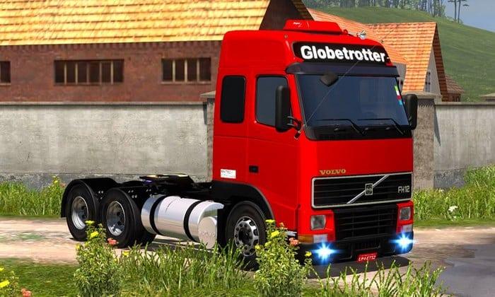 Caminhão Volvo FH12 BR + Acessórios Para V.1.33.X - ETS2