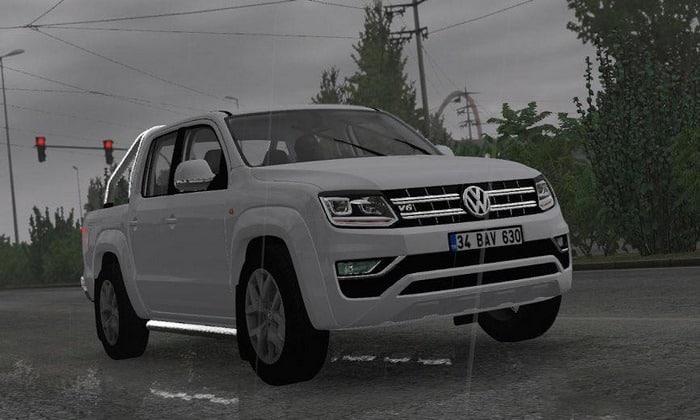Carro Volkswagen Amarok V6 Para V.1.33.X - ETS2