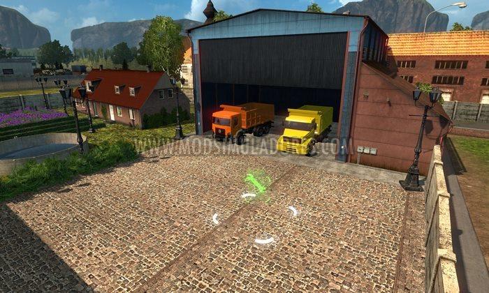 Mapa EAA Truck V.5.0.8 Para V.1.33.X - ETS2