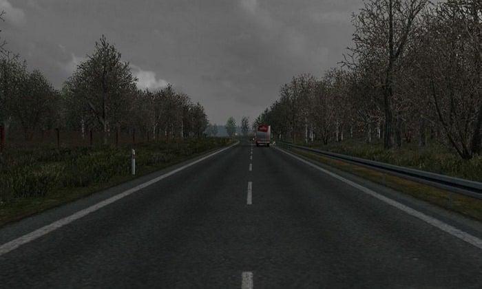Mod Final de Outono - Início do Inverno V.3.2 Para V.1.33.X - ETS2
