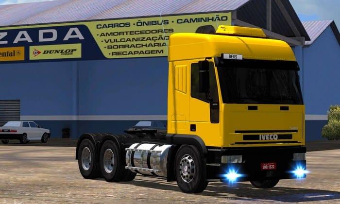 Caminhão Iveco Euro Tech Arqueado Para V.1.33.X - ETS2