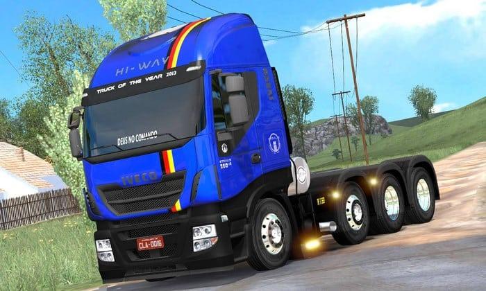 Caminhão Iveco Hi Way 8X4 Para V.1.33.X - ETS2