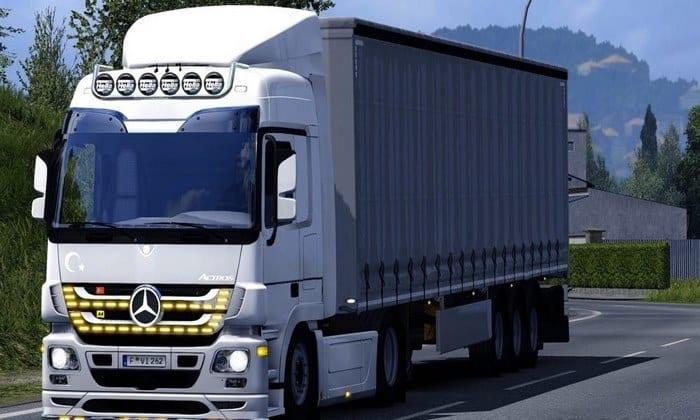 Caminhão Mercedes Actros 2009 V.1.0 Para V.1.33.X - ETS2