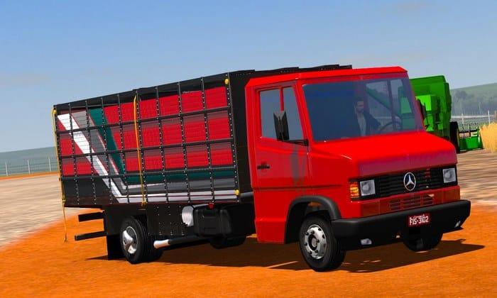 Caminhão Mercedes Benz 710 Para V.1.33.X - ETS2