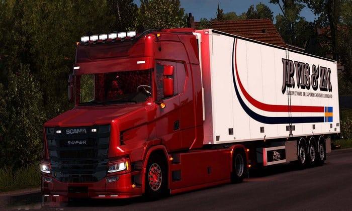 Caminhão Scania T NextGen 4×2 Para V.1.33.X - ETS2