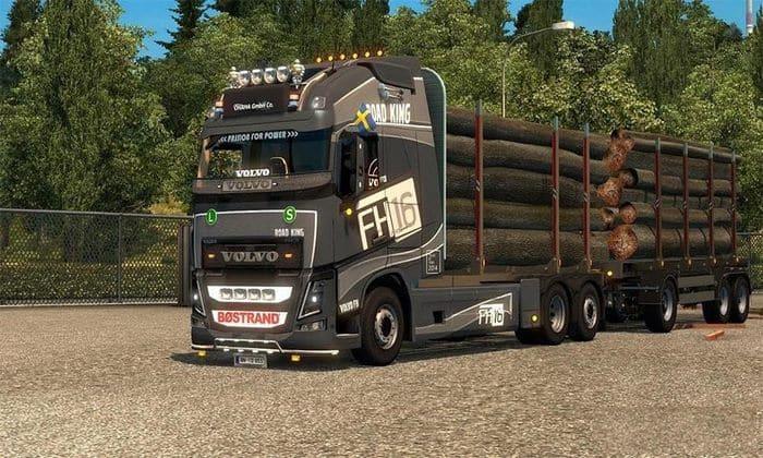 Caminhão Volvo FH16 2012 Edit V.22.09R Para V.1.33.X - ETS2