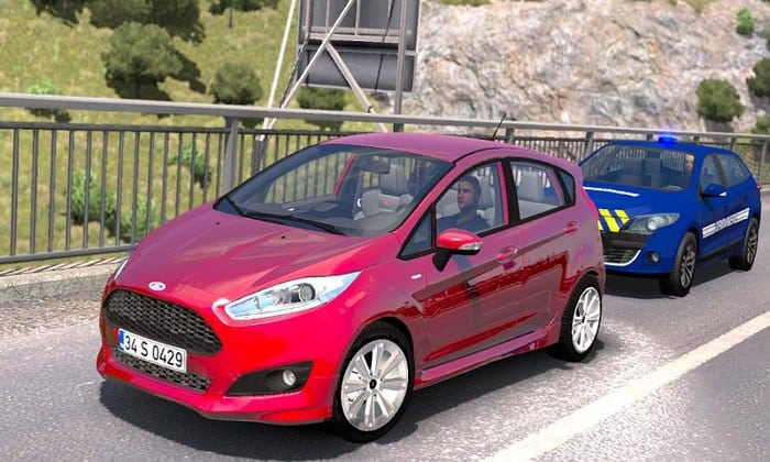Carro Ford Fiesta ST e ST-Line V1R2G V.1.0 Para V.1.33.X - ETS2
