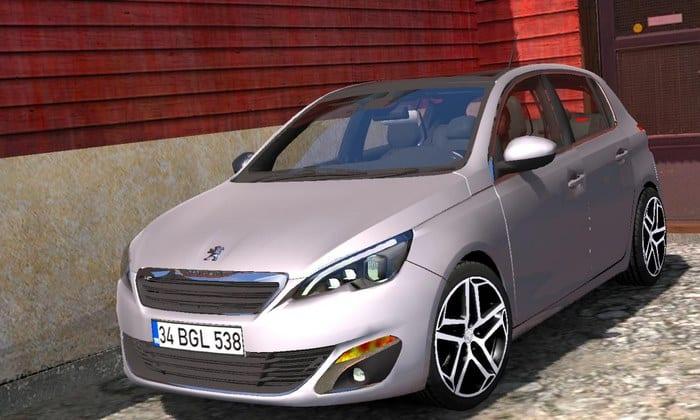 Carro Peugeot 308 V1R2 Para V.1.33.X - ETS2