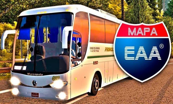 Mod EAA Bus V.5.0.9 Para V.1.33.X - ETS2