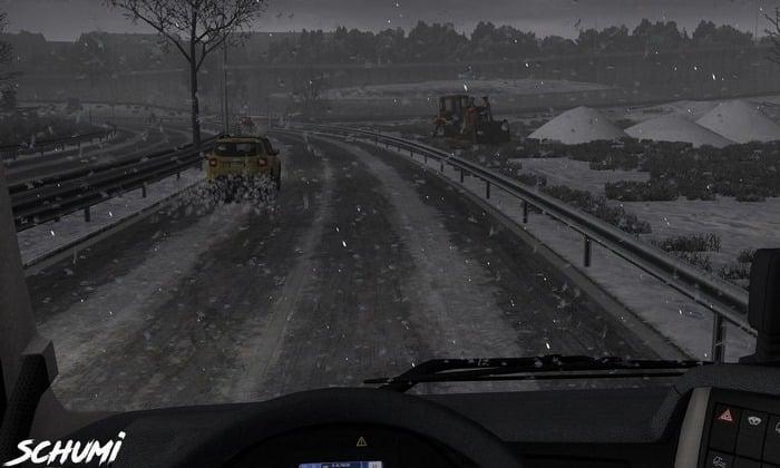 Mod Novo Tempo de Inverno V.1.1 Para V.1.33.X - ETS2