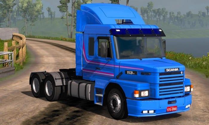 Caminhão Scania 113 Com Acessorios Para V.1.34.X - ETS2