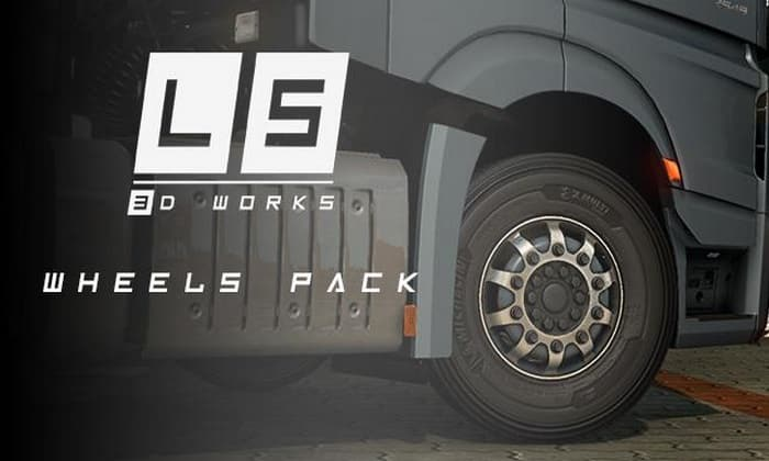Pack de Pneus LS Para V.1.34.X - ETS2