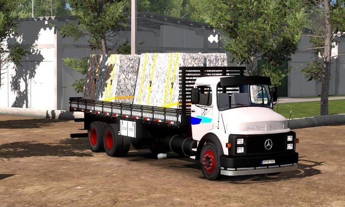 Caminhão Mercedes Benz 1113 Para V.1.34.X - ETS2