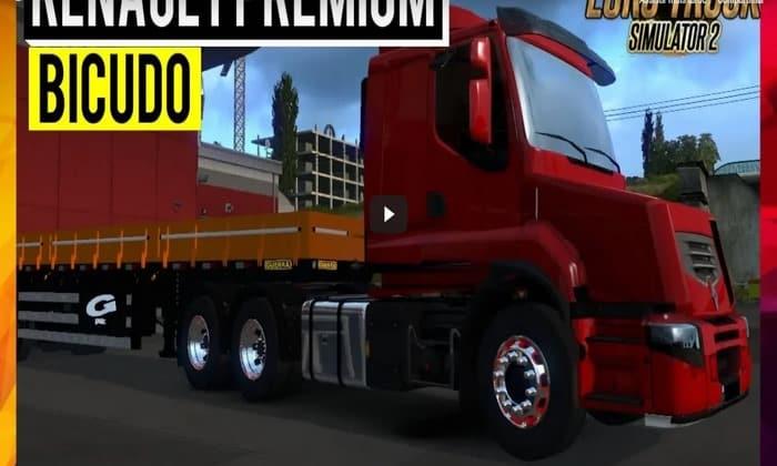 Caminhão Renault Premium Bicudo Para V.1.34.X - ETS2