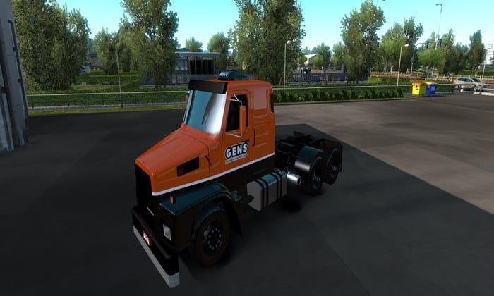 Caminhão Volvo N10 + Skin Editável Para V.1.34.X - ETS2