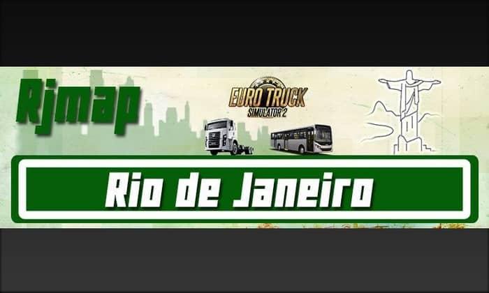 Mapa Rio de Janeiro Para V.1.34.X - ETS2