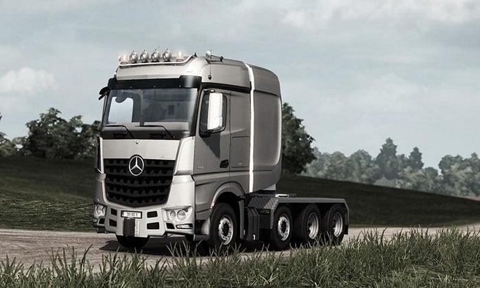Caminhão Big Stars Actros SLT V.1.5.4.3 Para V.1.35.X - ETS2