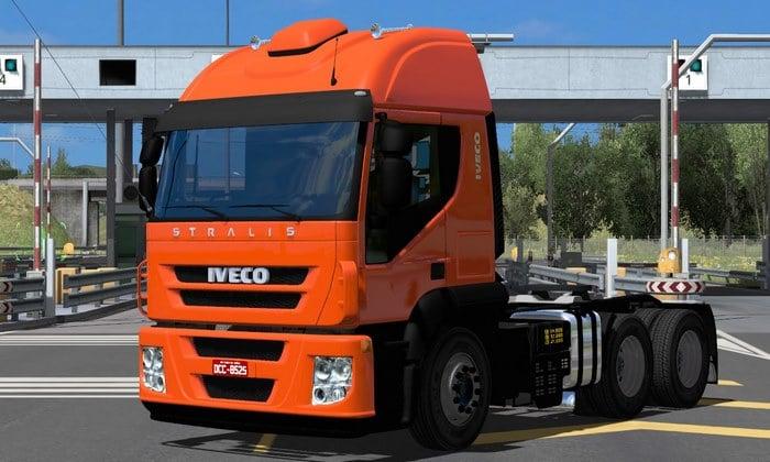 Caminhão Iveco Stralis BR Para V.1.35.X - ETS2