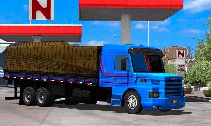 Caminhão Scania 113 Bicuda Para V.1.35.X - ETS2