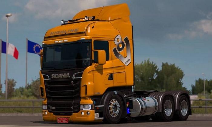 Caminhão Scania Edit BR RJL ReS e R4 Para V.1.35.X - ETS2