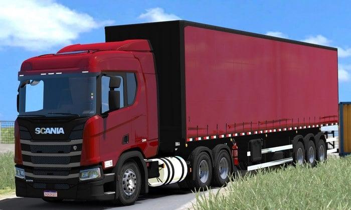 Caminhão Scania New Generation BR Para V.1.34.X - ETS2