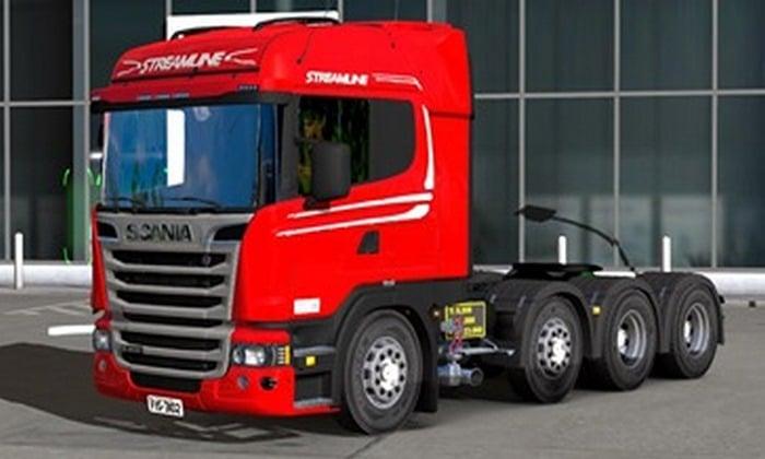 Scania Streamline R480 8X4 Para V.1.35.X - ETS2