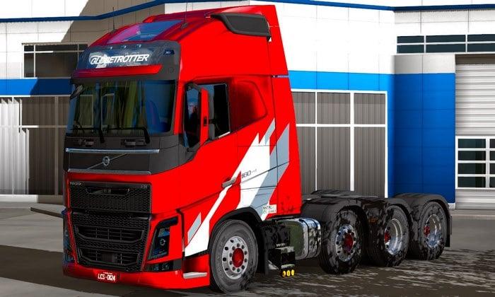 Caminhão Volvo New FH BR Para V.1.35.X - ETS2