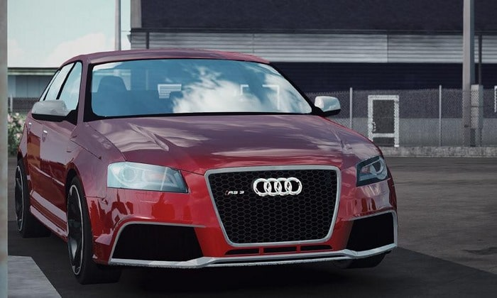 Carro Audi RS3 Sportback V.1.0 Para V.1.34.X - ETS2